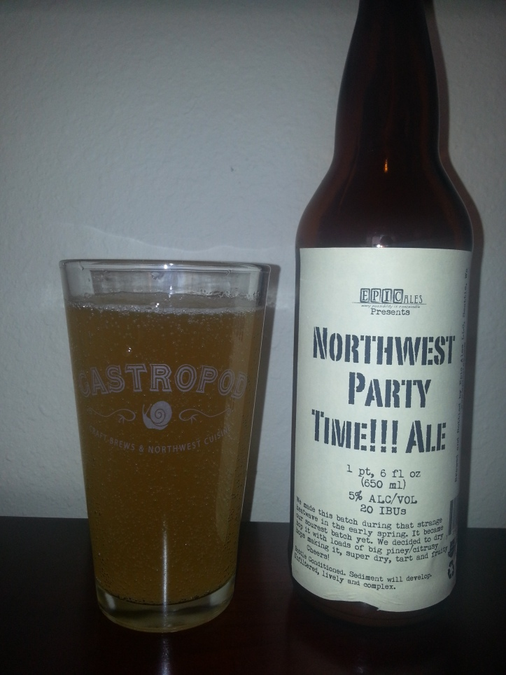 Northwest Party Time!!! Ale -Sour Fest in a Bottle