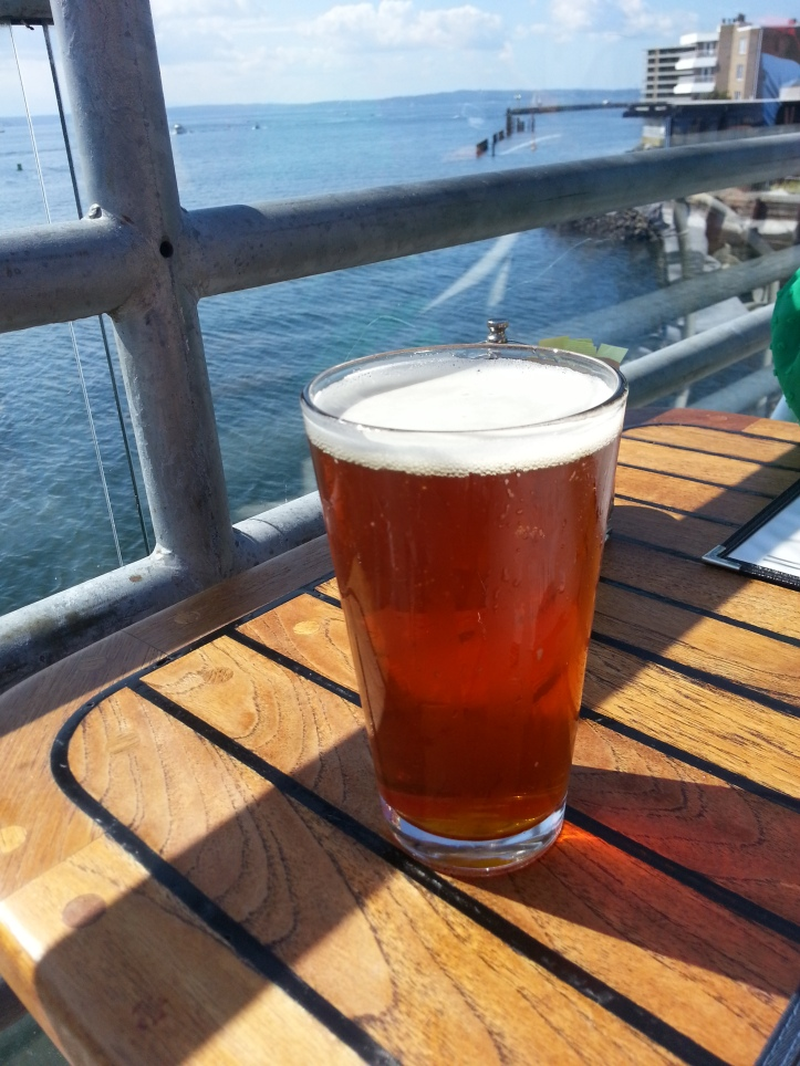 West Coast IPA from Green Flash Brewing at Ray's Cafe.