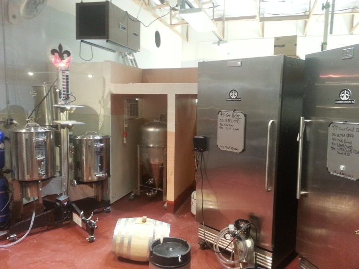 Geaux Brewing's System