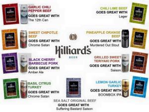 Hilliards Beer Jerky
