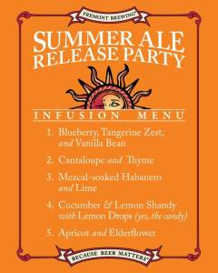 Summer Ale Infusions